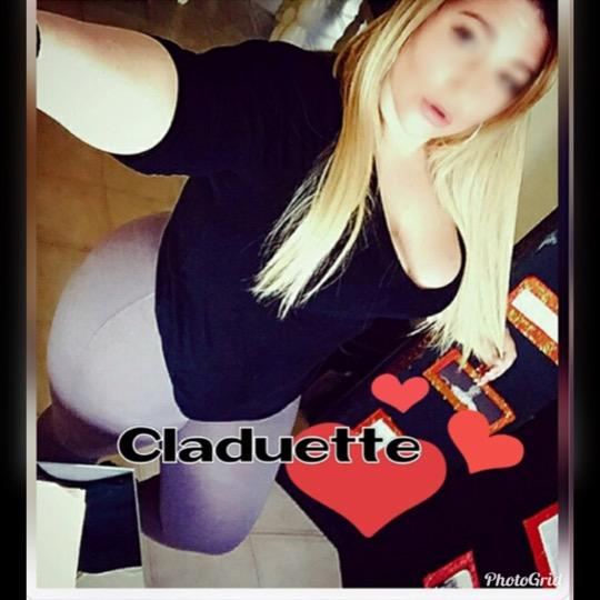 French Candain Blonde BBW Claudette Back in Scarborough